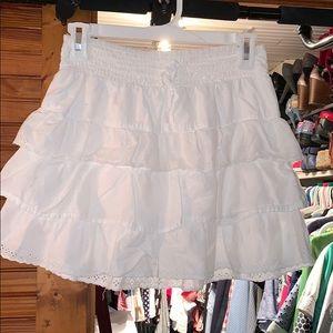 Arizona mini skirt with shorts built in.